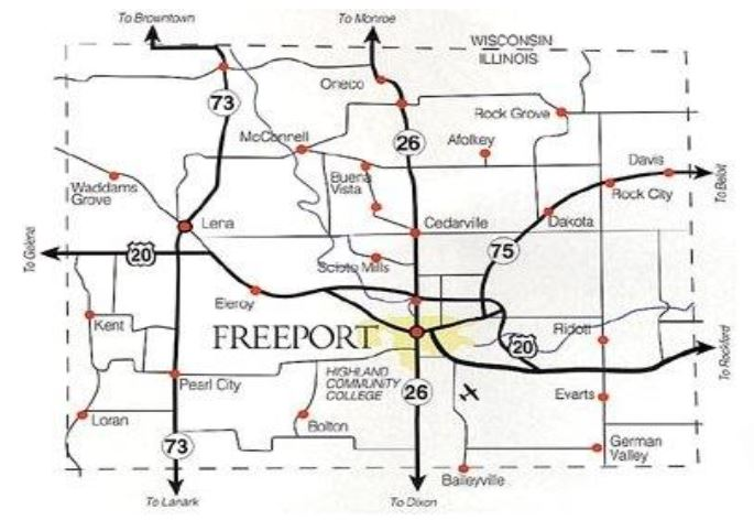 freeport map